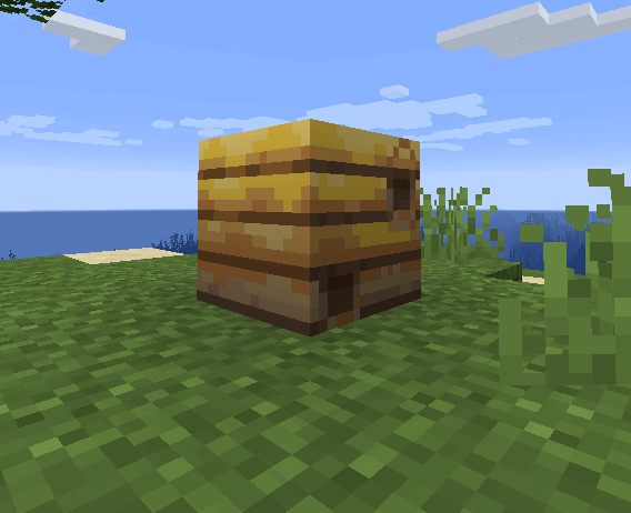 Bee nests in Minecraft 1.15