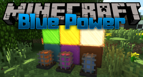 Blue Power 1.12.2 скриншот 1
