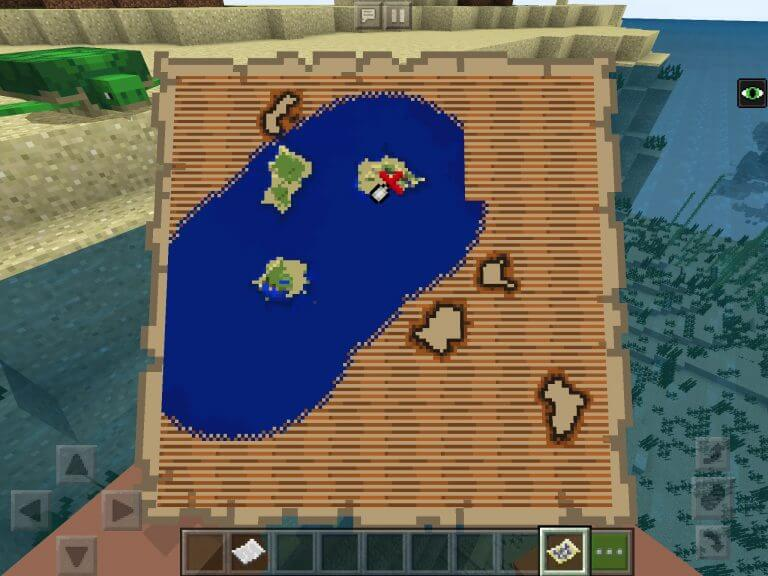 Shipwreck Seed with Buried Treasure screenshot 1