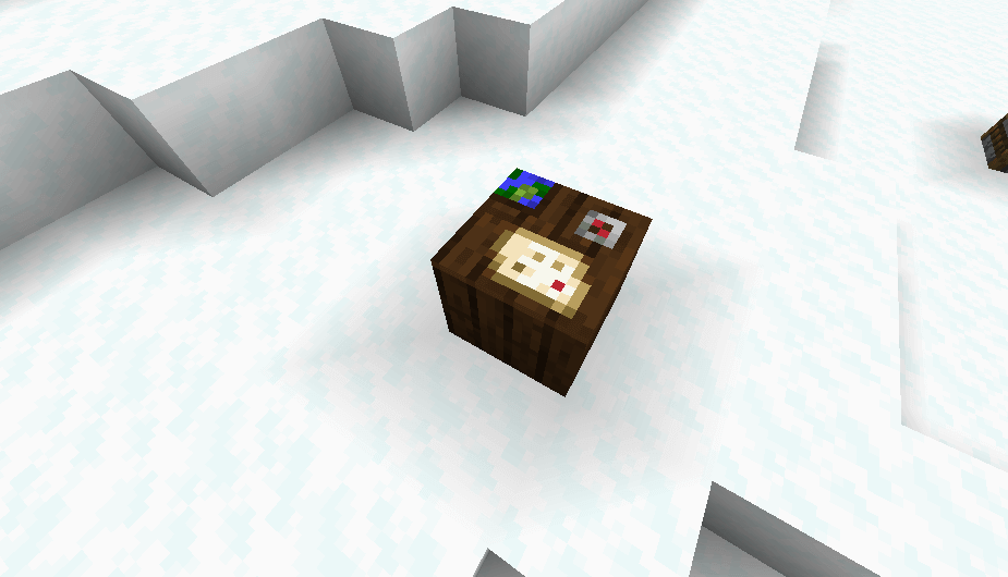 Cartography Table in Minecraft 1.14