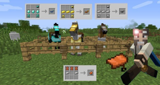 Craftable Saddles скриншот 2