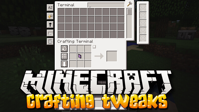 Crafting Tweaks скриншот 1