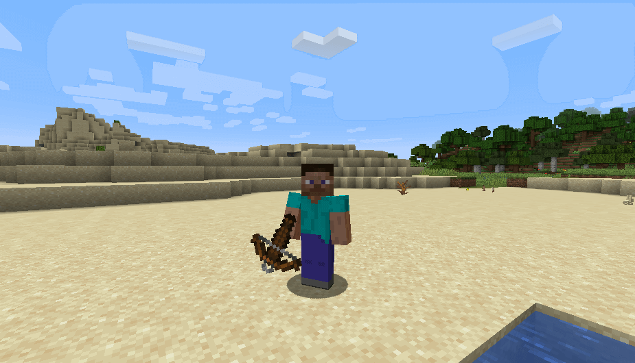 Crossbow in Minecraft 1.14 screenshot 1