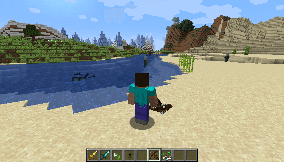 Crossbow in Minecraft 1.14 screenshot 2