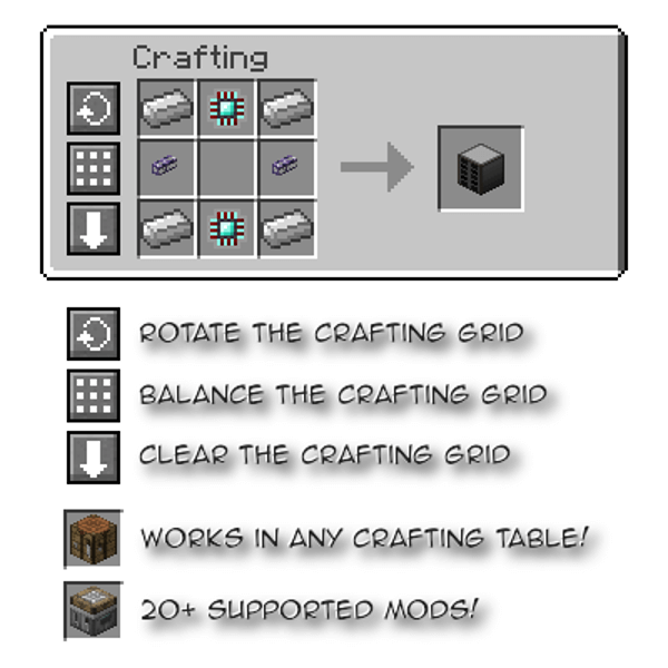 Crafting Tweaks скриншот 3