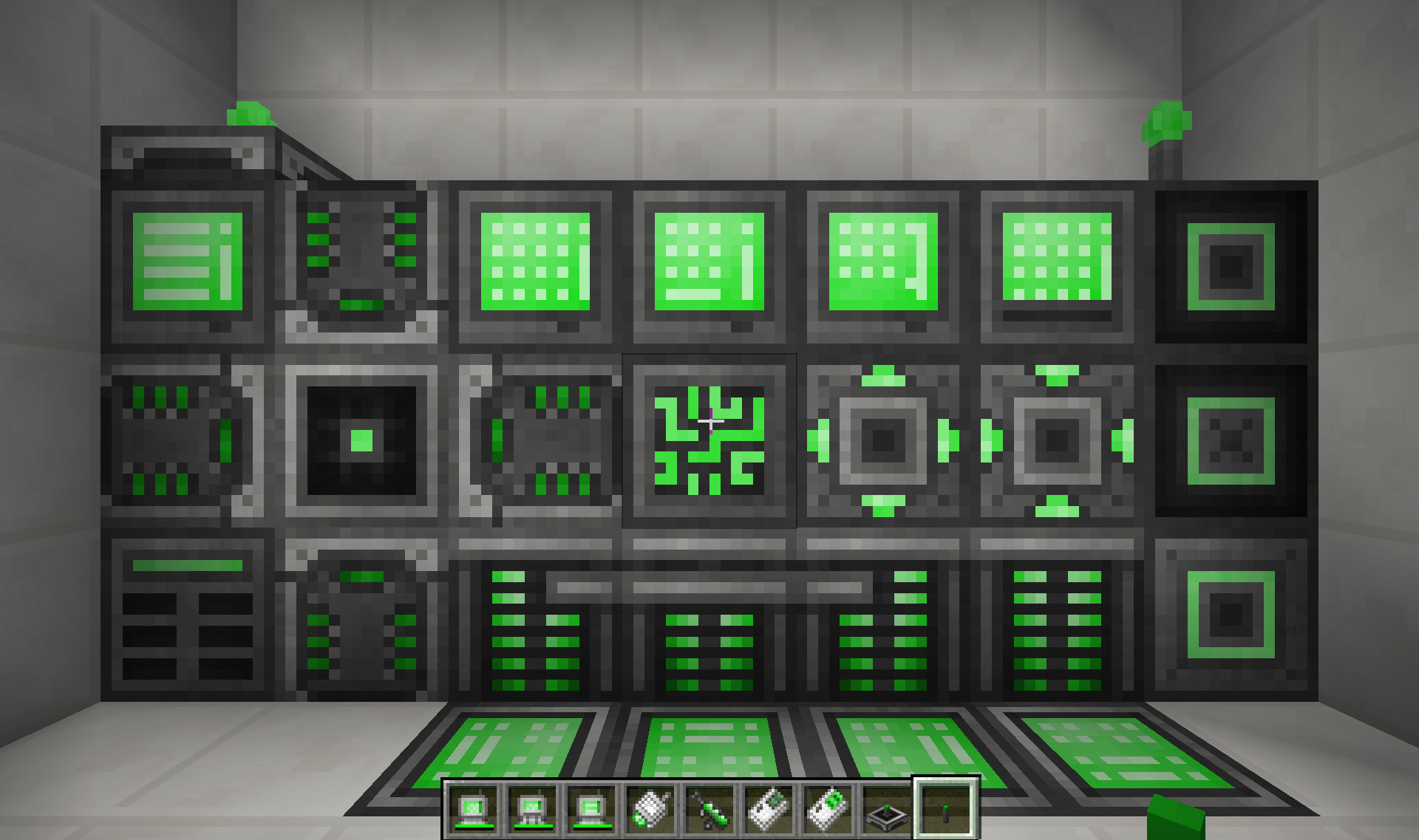 Refined Storage Recolor - Green скриншот 2