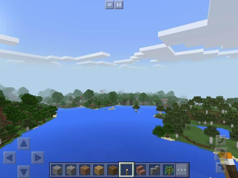 2308640 A Forest Mansion At The Spawn