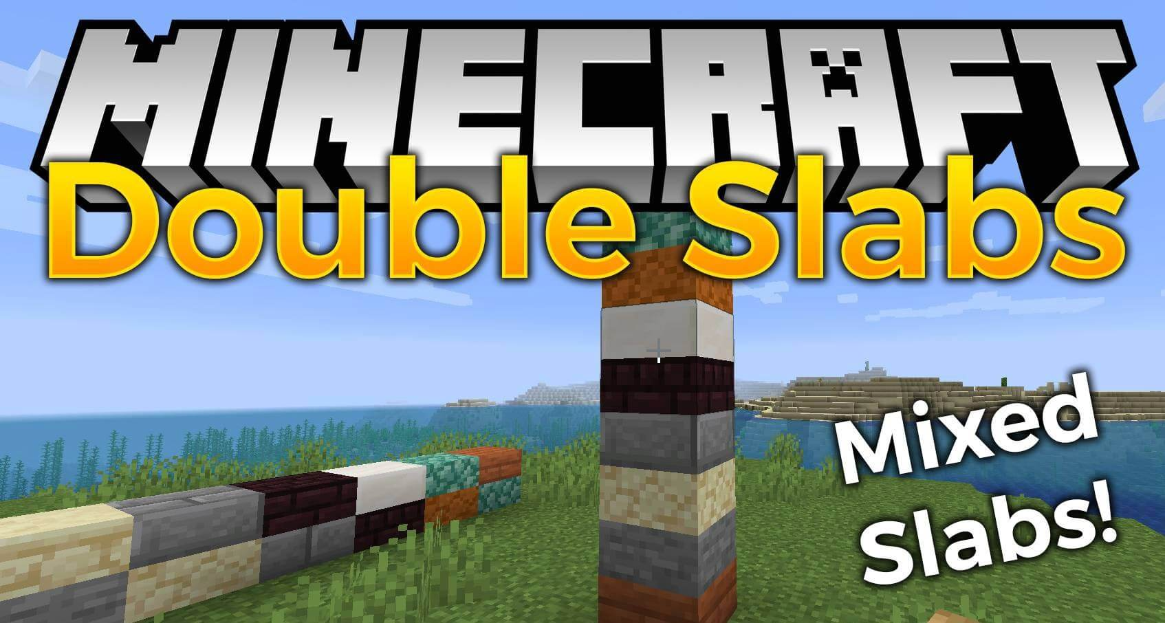 Double Slabs for Minecraft 9.96.9