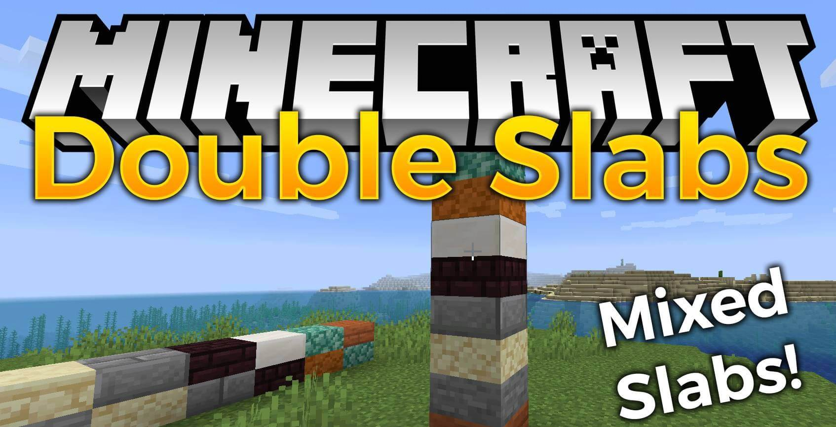 Double Slabs for Minecraft 8.86.8