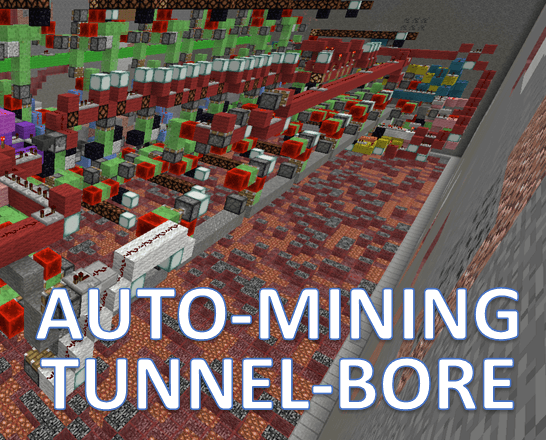 Automated Tunnelbore Machine скриншот 1