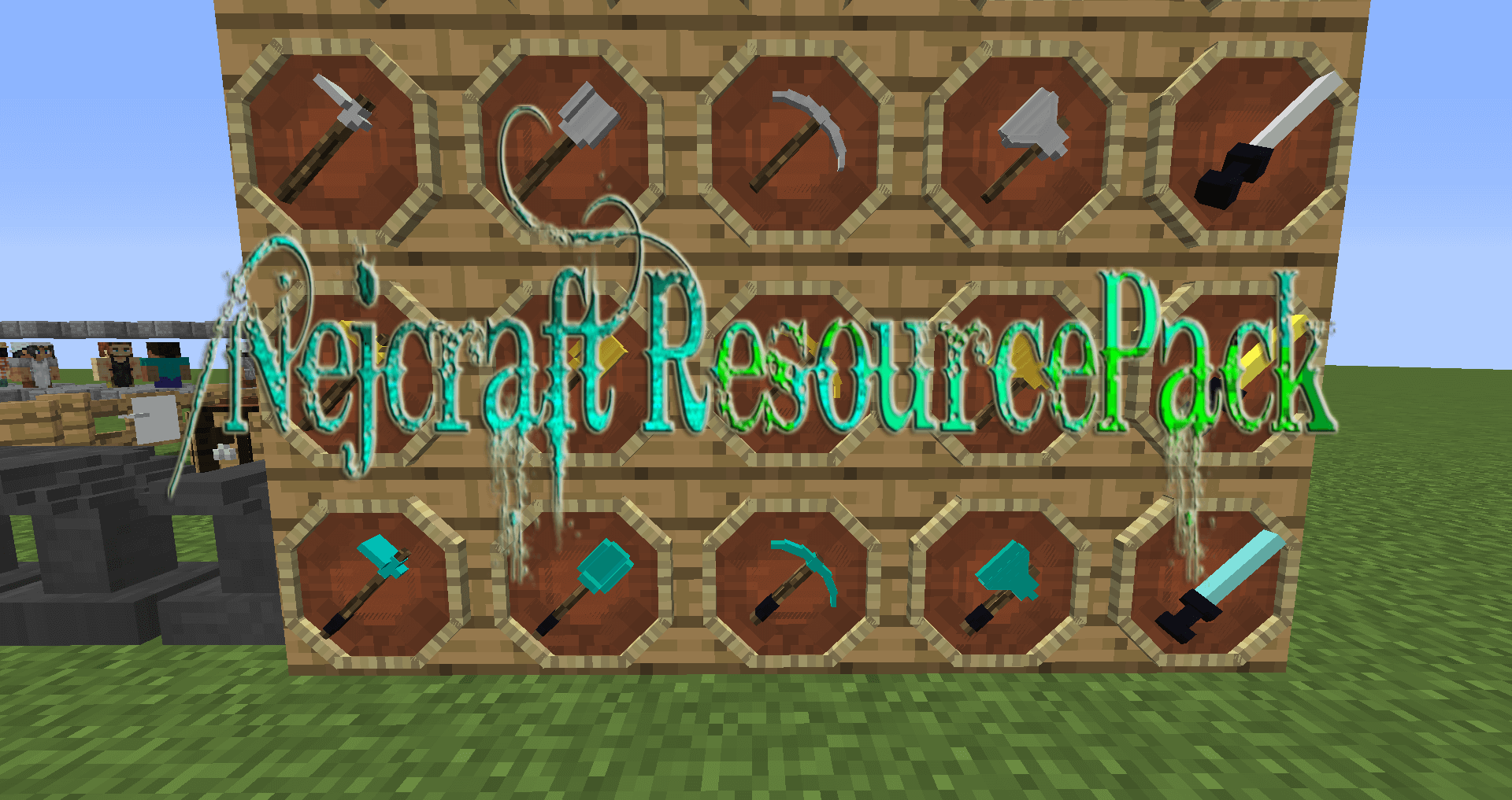 Nejcraft ResourcePack скриншот 1