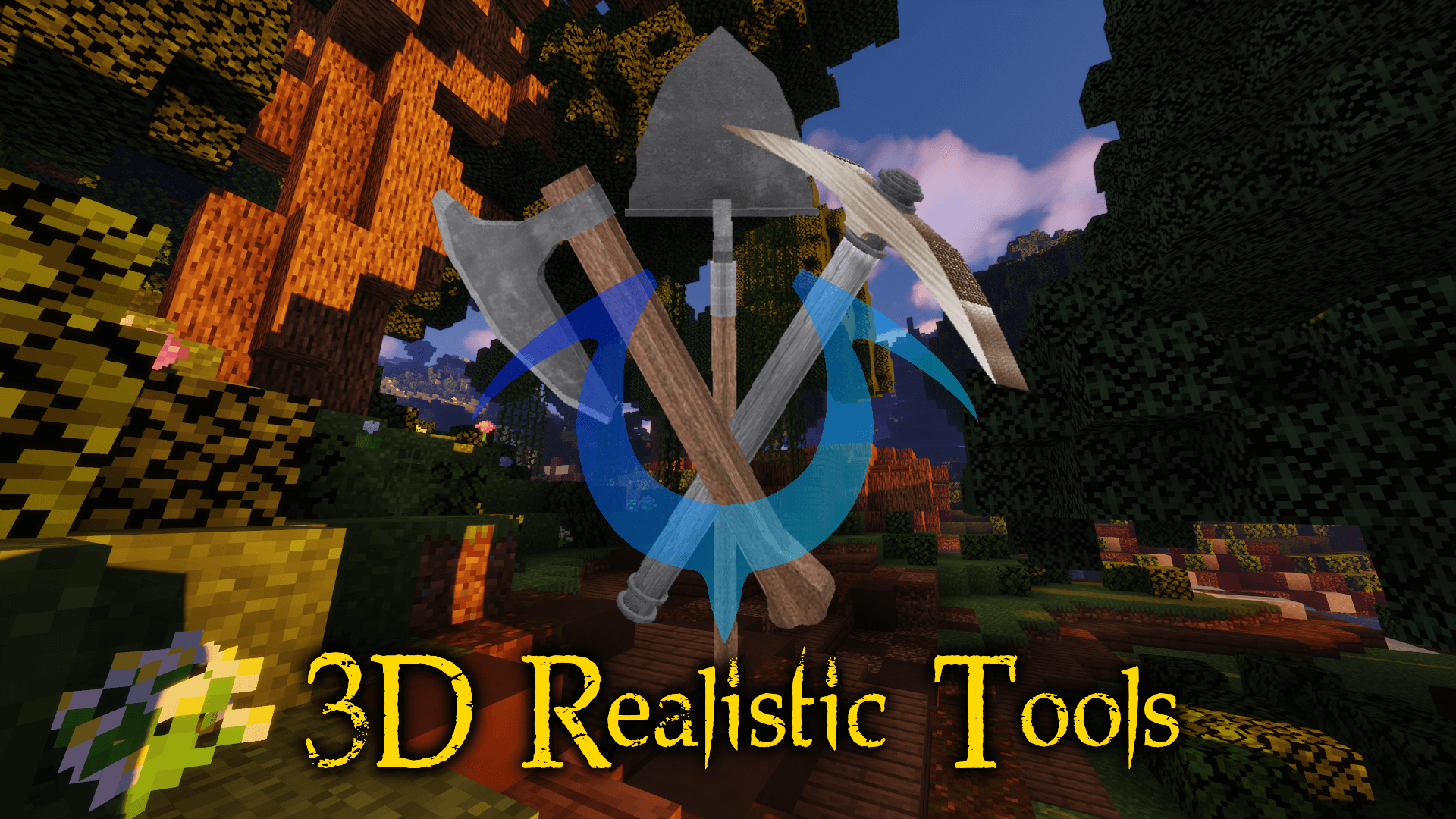 Realistic 8D Tools for Minecraft 8.85.8