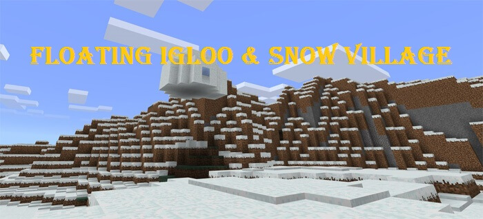 2078483587: Floating Igloo & Snow Village скриншт 1