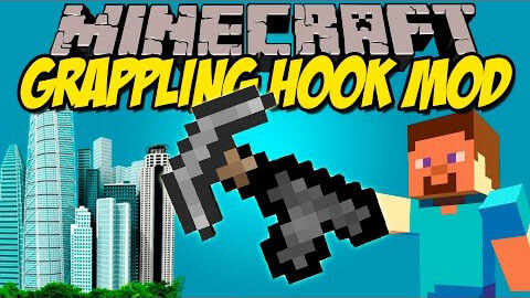 Grappling Hook Mod скриншот 1