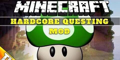 Hardcore Questing Mode 1.12.2 скриншот 1