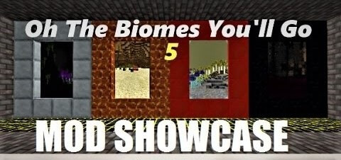 Oh The Biomes You'll Go 5 скриншот 1