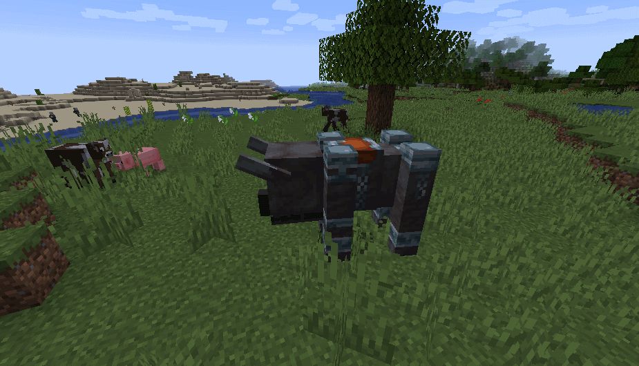 Ravager in Minecraft 1.14 screenshot 1