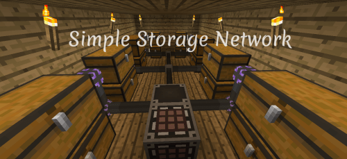 Simple Storage Network 1.11.2 скриншот 1