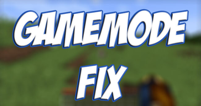 Gamemode Fix скриншот 1