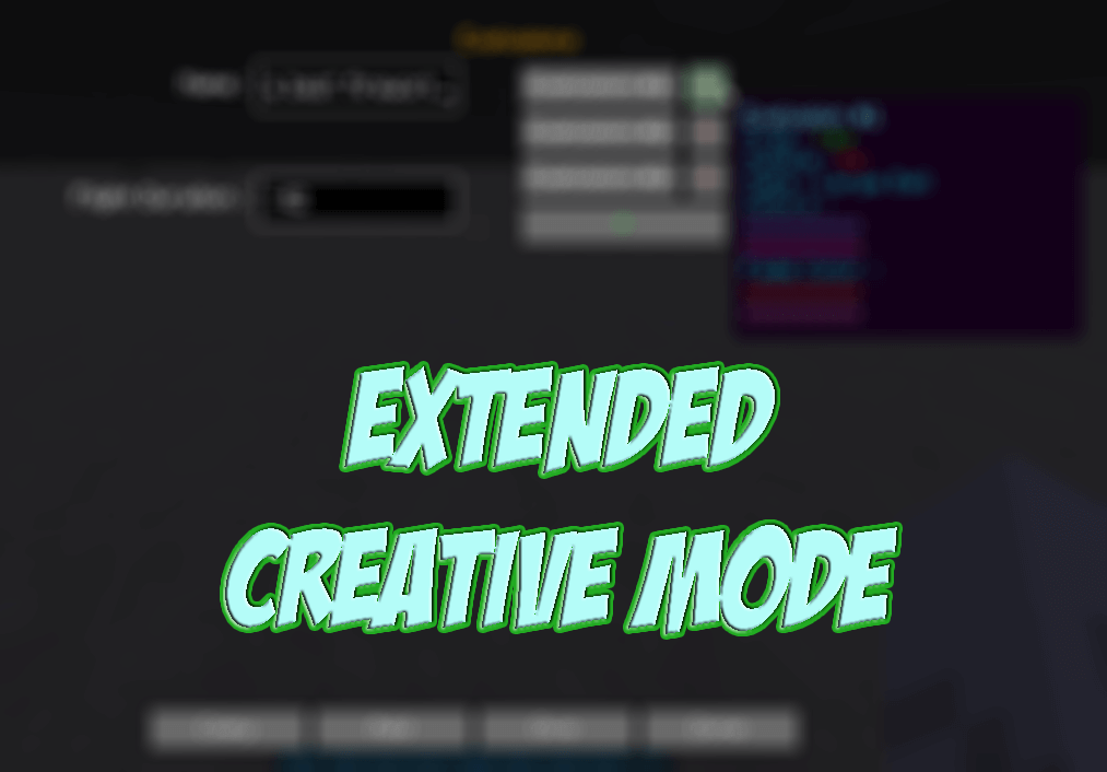 Extended Creative Mode скриншот 1