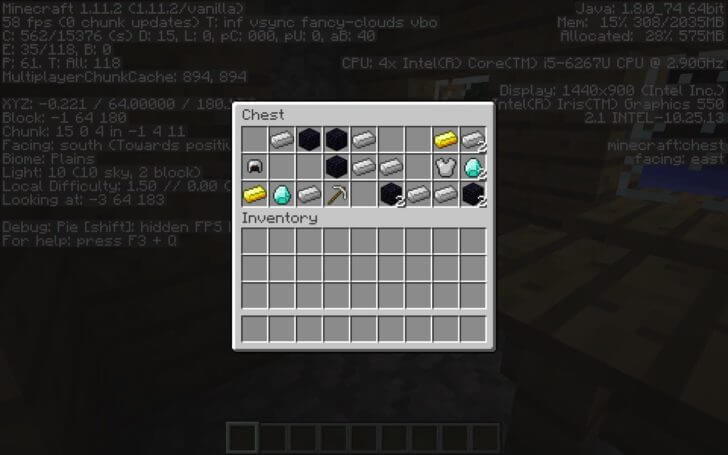 The village has a forge and blacksmith treasure screenshot 3