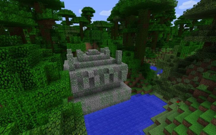 Ancient temple in the jungle screenshot 1
