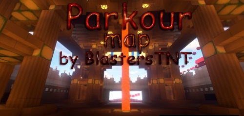 Карта Parkour map by BlastersTNT скриншот 1