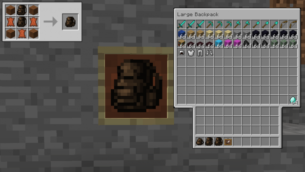 Useful Backpacks For Minecraft 1 16 3