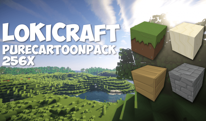 LoKiCraft PureCartoonPack скриншот 1