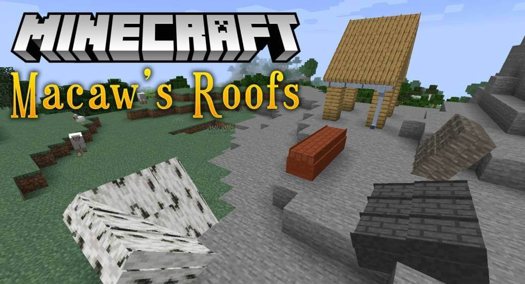 Macaw S Roofs For Minecraft 1 16 2