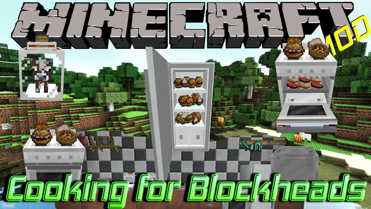 Cooking for Blockheads скриншот 1