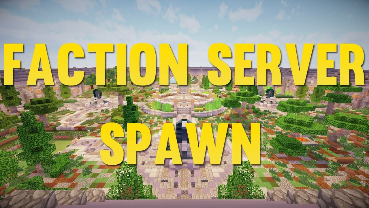 Factions Server Spawn скриншо т1