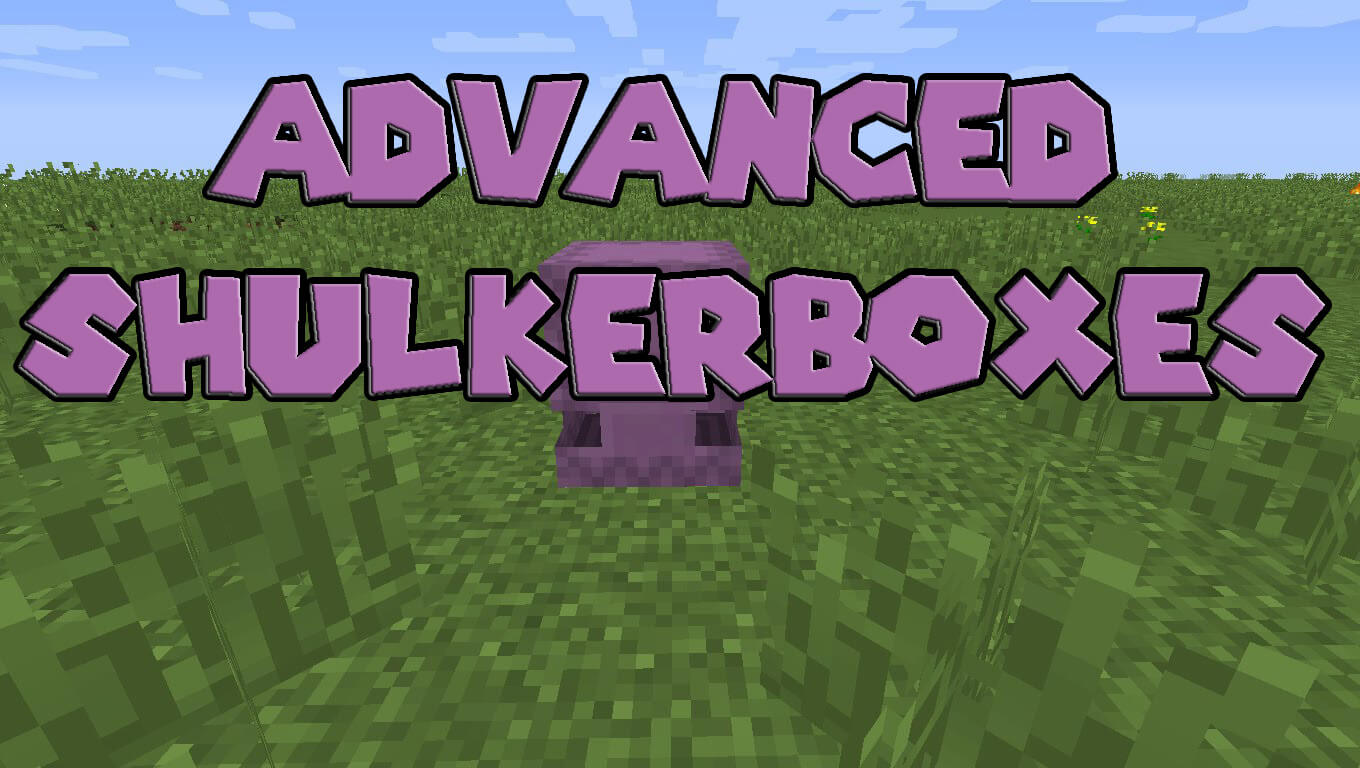 Advanced Shulkerboxes скриншот 1