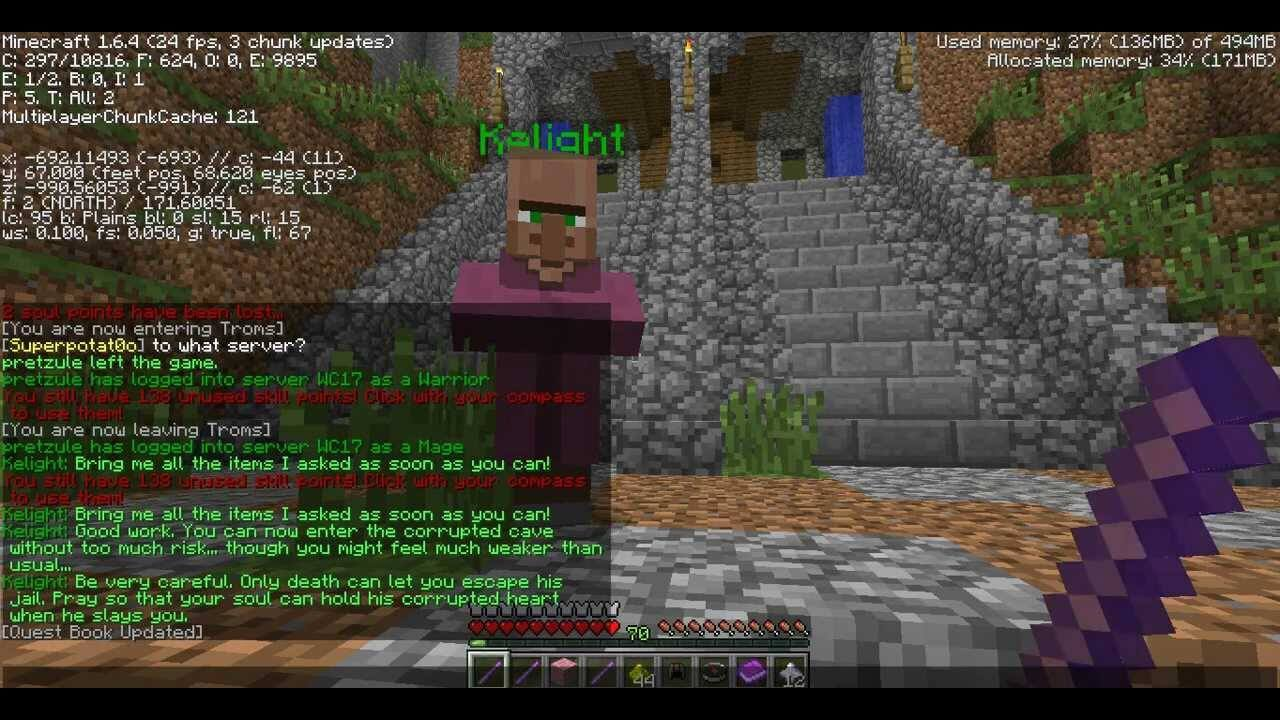 Wynncraft QuestVO скриншот 2