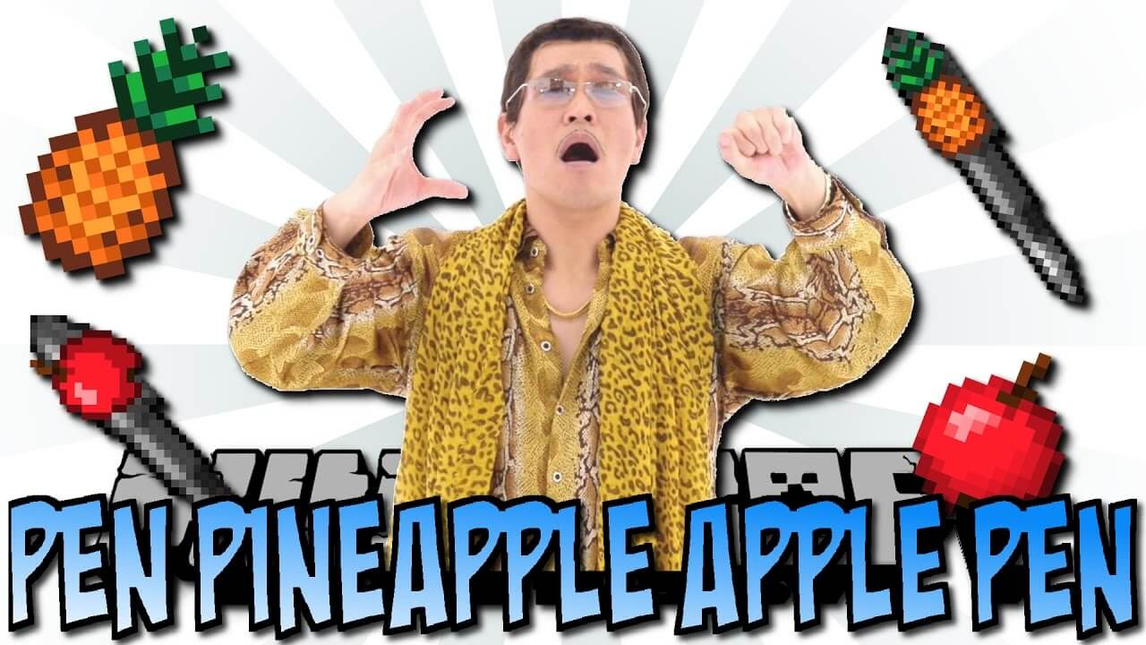 Pen Pineapple Apple Pen-скриншот-1