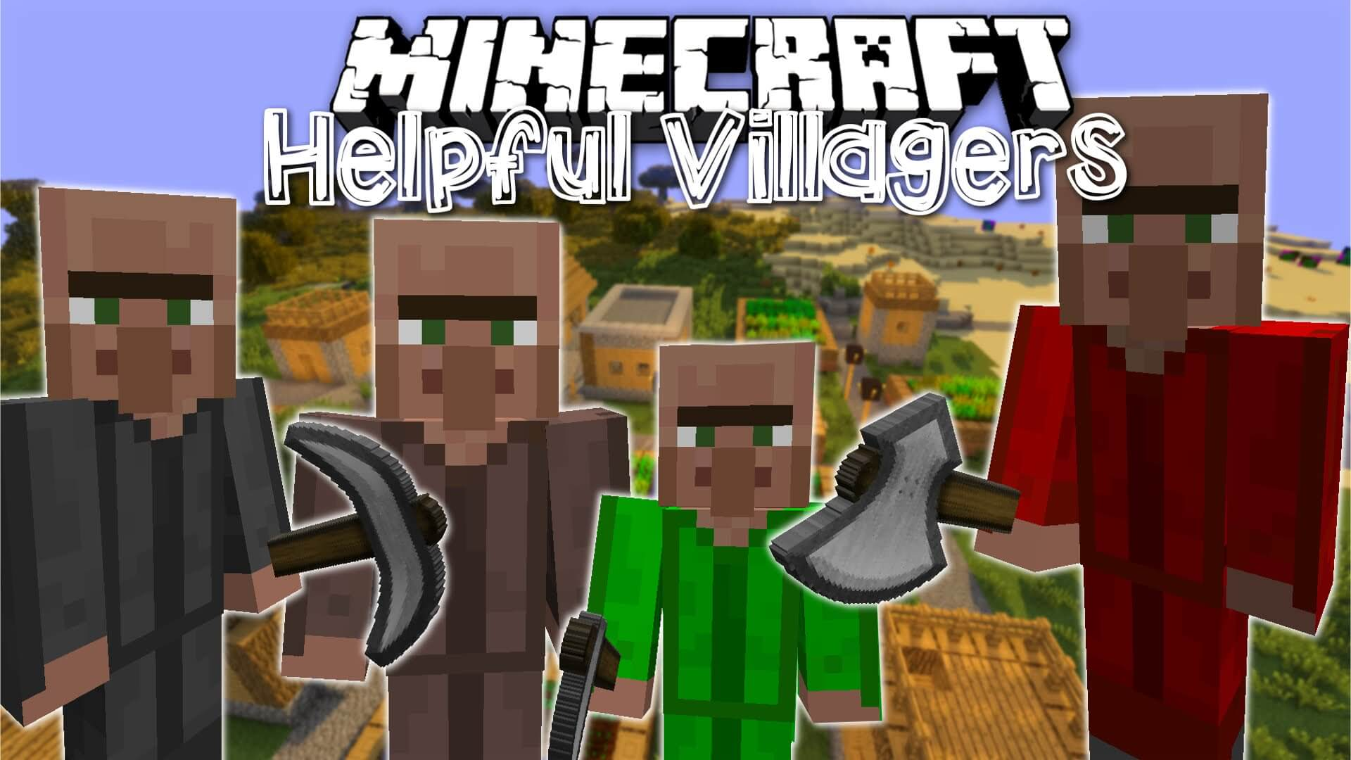 Helpful Villagers скриншот 1