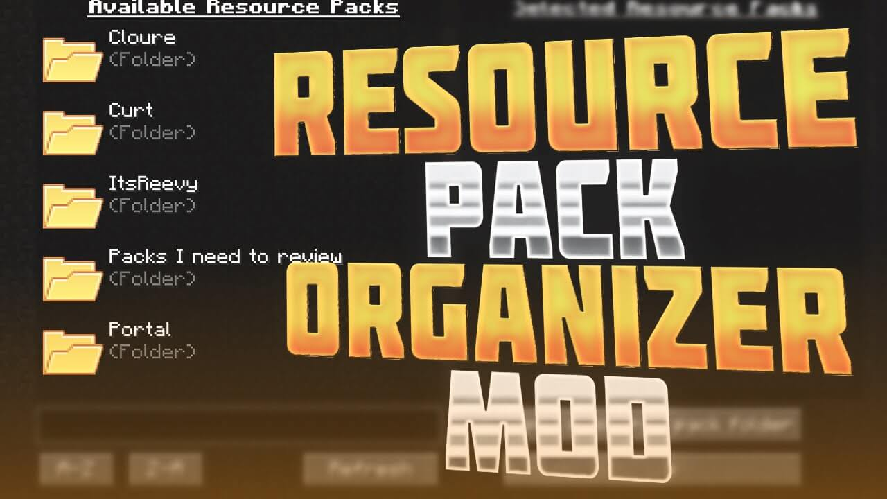 Resource Pack Organizer скриншот 1