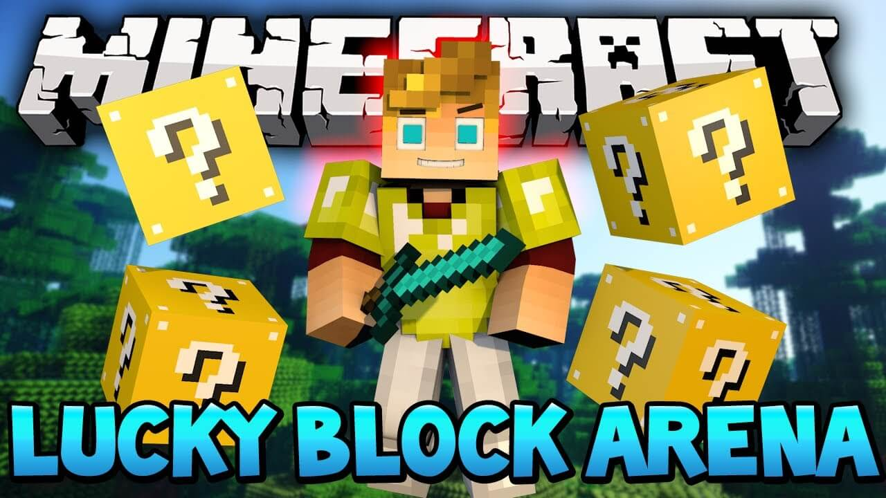 Lucky Block Arena скриншот 1