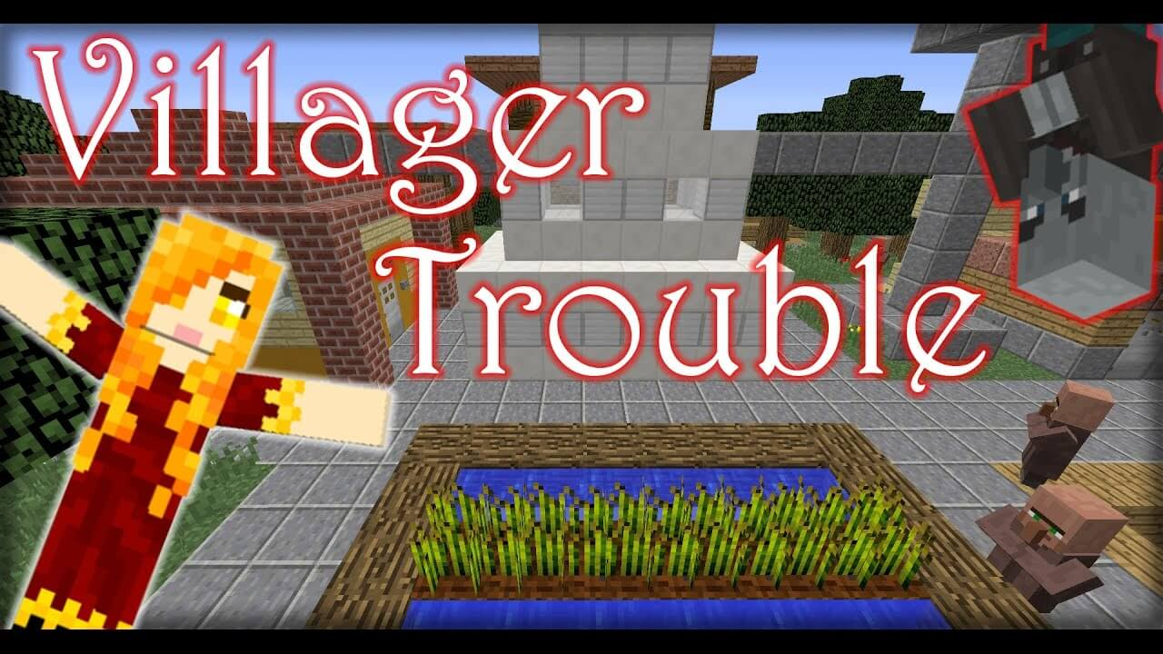 Villager Trouble скриншот 1