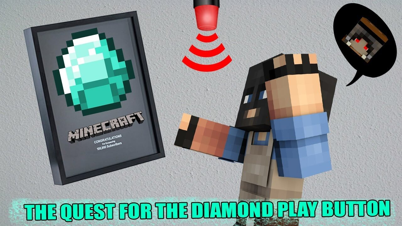 The Quest For The Diamond Play Button скриншот 1