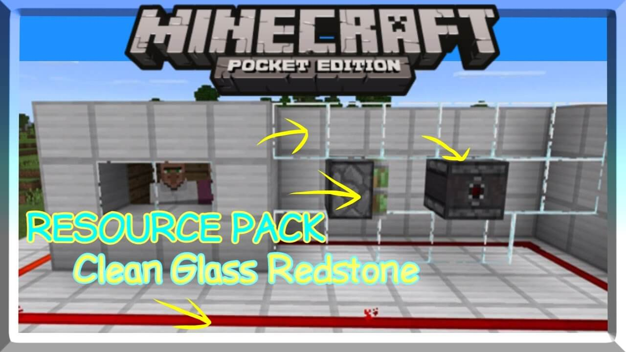 Clean Glass Redstone скриншот 1