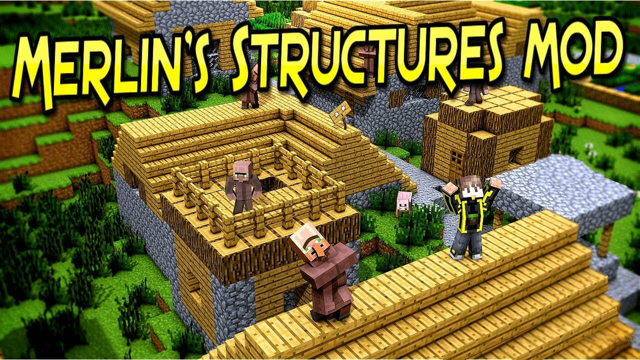 Merlin's Structures скриншот 1