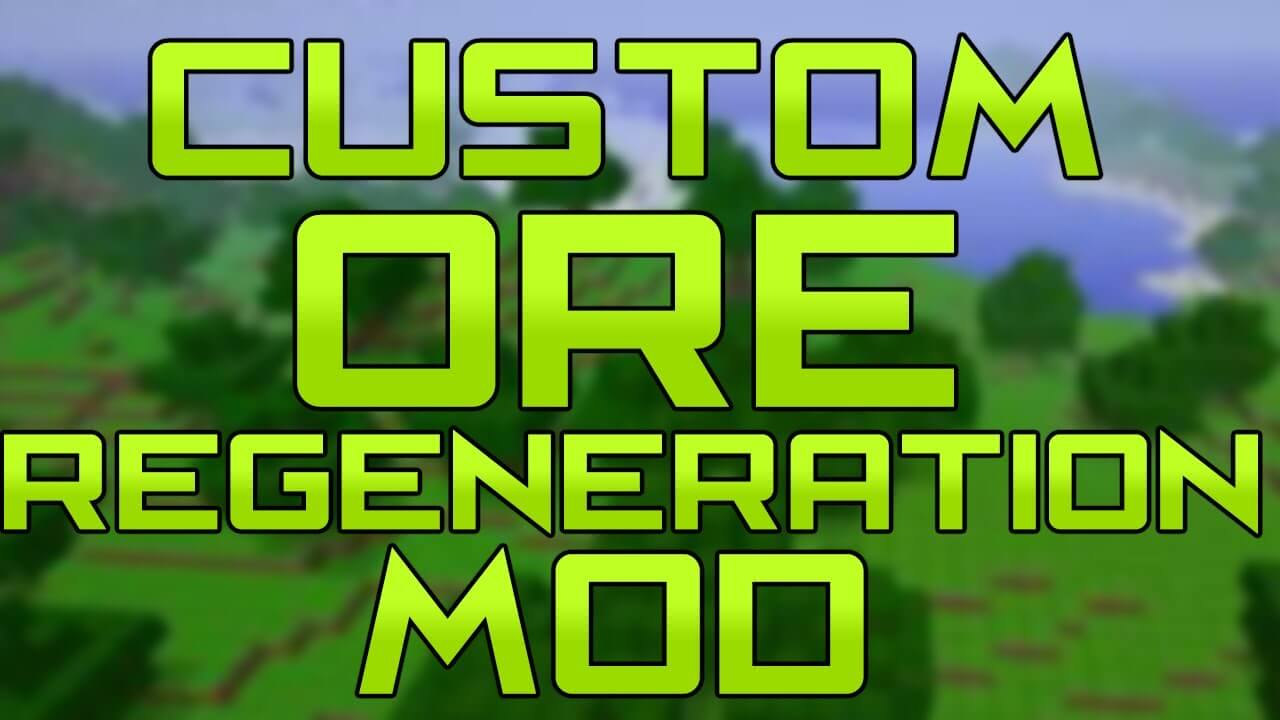 Wolfer Custom Ore Generation скриншот 1