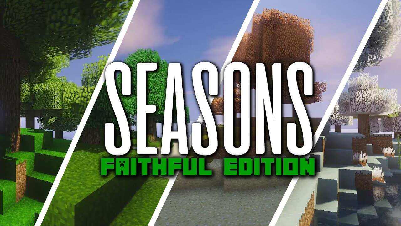 Seasons Addon for Faithful скриншот 1