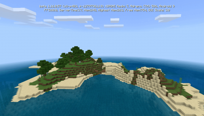 1279736119 A Survival Island With A Shipwreck Seed Minecraft Pe