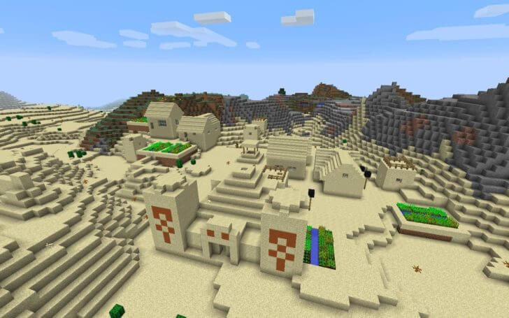 A village with zombies and a deserted temple with treasures screenshot 1