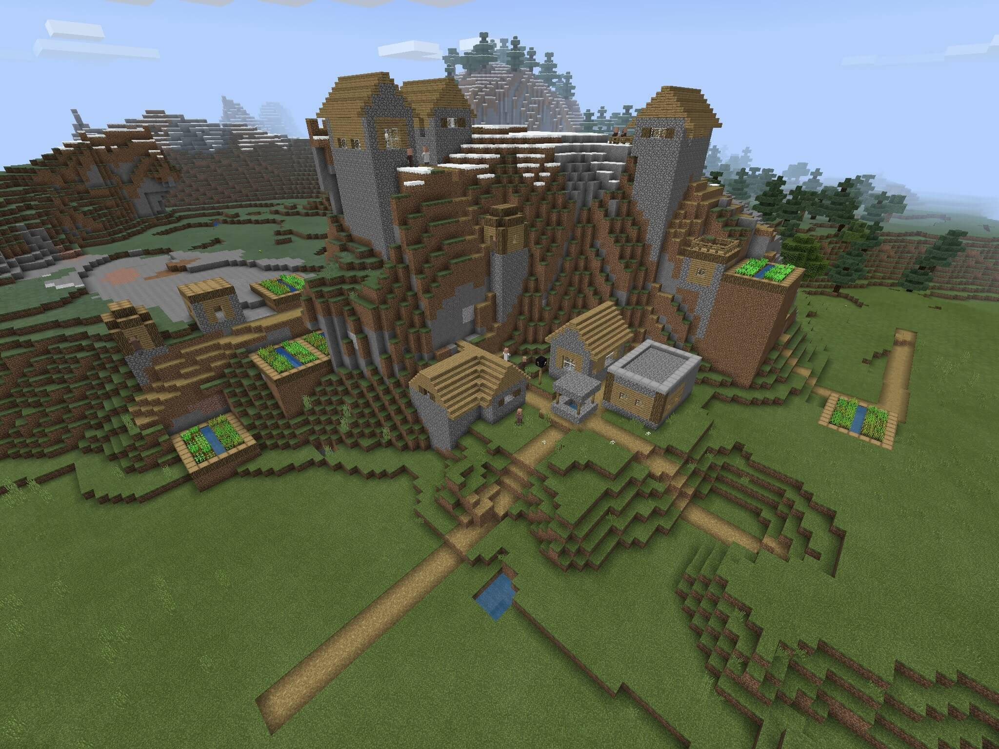 Mountain Blacksmith Village and Witch Hut  screenshot 1