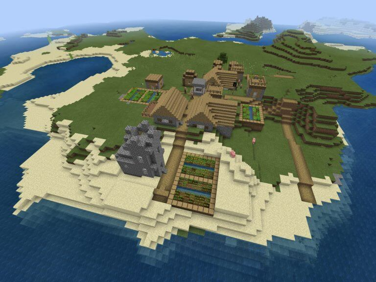 Stronghold Under Spawn Village screenshot 1