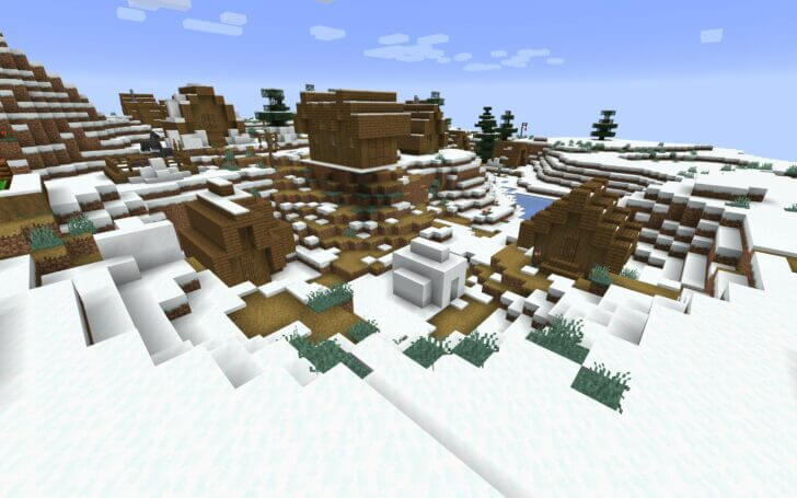 -902075386 A Village in the Middle of the Snowy Desert screenshot 1