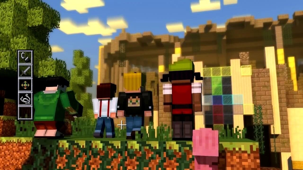 Minecraft Story Mode Episode 1 Скриншот 2